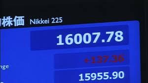 日経平均株価16,000円超え ~第二波の到来か!?