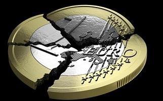 ユーロ/円、安値更新<壊れゆくユーロ>
