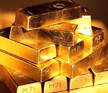 金(ゴールド)価格の下落